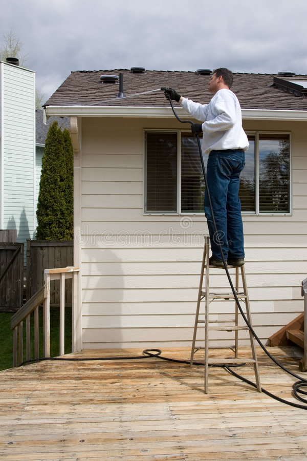 Handyman home maintenance royalty free stock photo