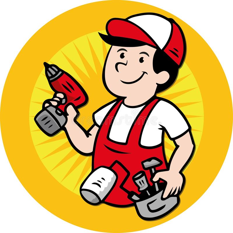 handyman logo stock vector illustration of handyman 66548729 rh dreamstime com handyman logos for business handyman logos images
