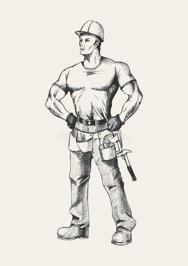 Download Handyman Stock Vector Illustration Of Builder Technician