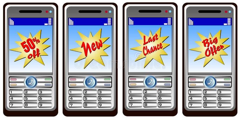 Handys marketing stock photo