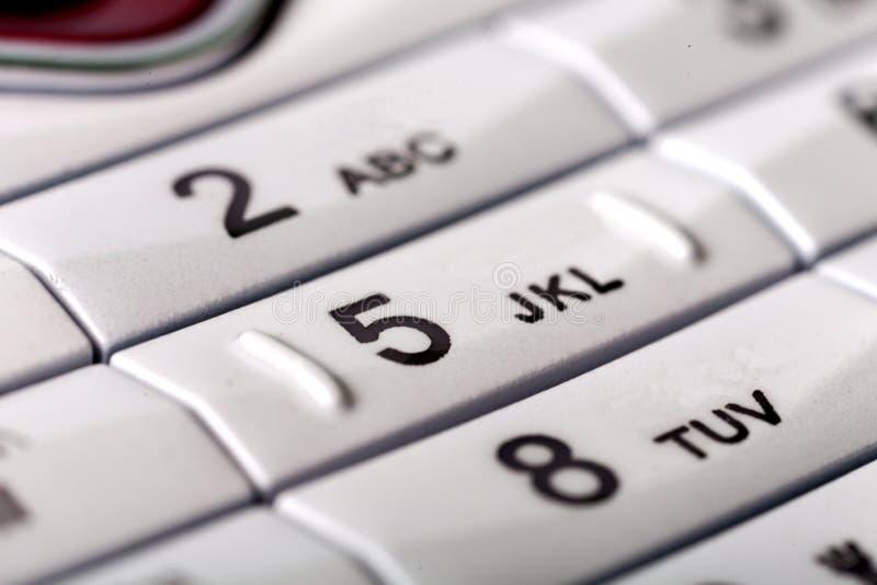 Handytastaturblock stockbild