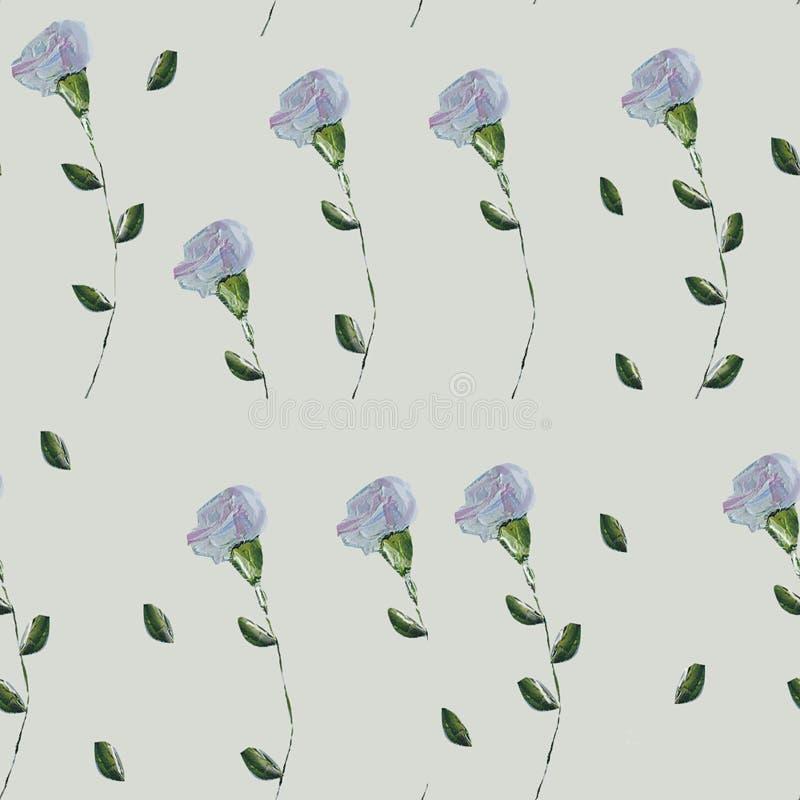 Handzeichnungsillustration von schönen Sommerblumen lizenzfreie stockfotos