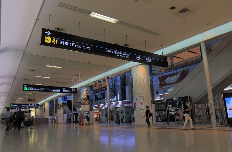 Haneda lotnisko międzynarodowe Tokio Japonia fotografia stock