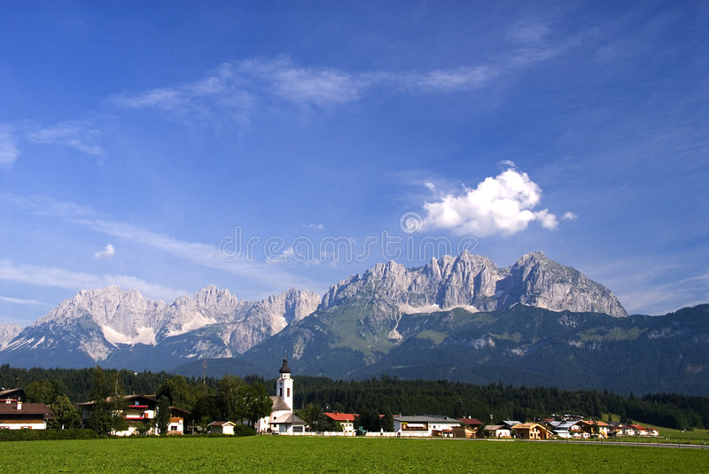 Download Hanenkam With Oberdorf In Foreground Stock Photos - Image: 1724143