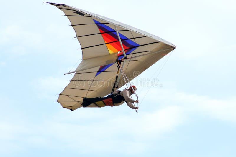 Hang-glider royalty free stock image