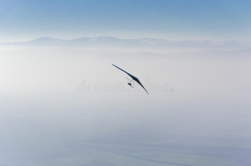 Hang Glider arkivfoton