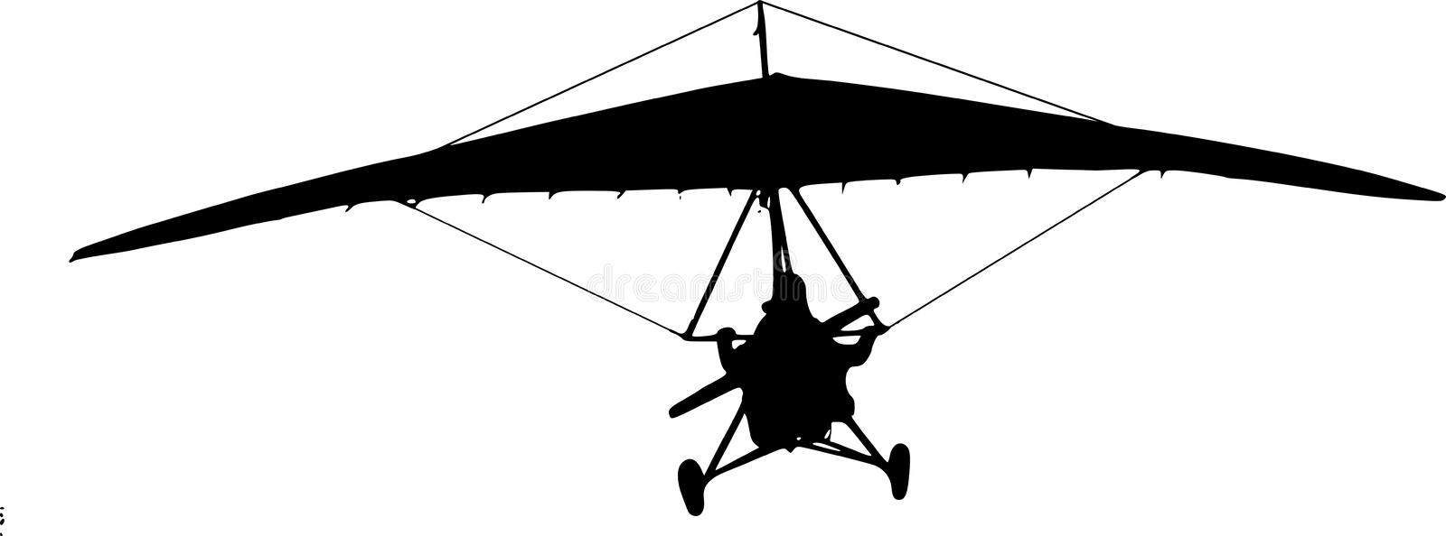 Hang-glider Stock Photo