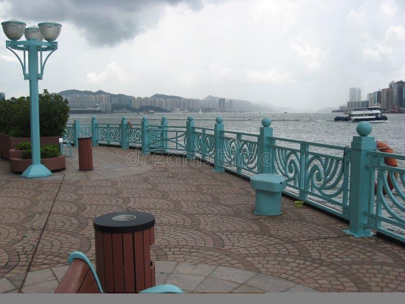 Hang Hom promenad, Hong Kong royaltyfri bild