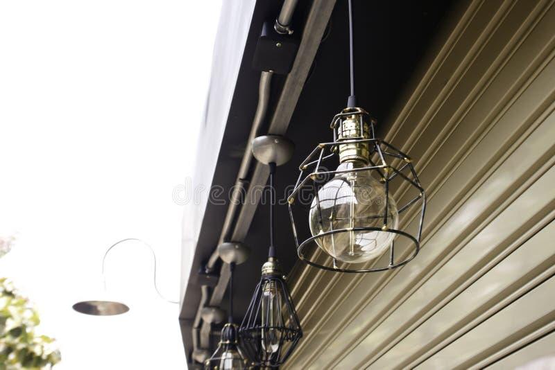 Hang Lamp exterior imagens de stock