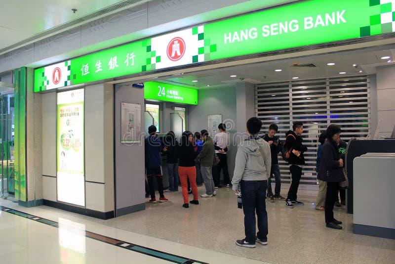 Hang- Sengbank in Hong Kong lizenzfreie stockfotos
