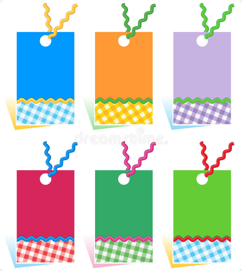 Free Hang Tags Design Elements Stock Images - 19375264