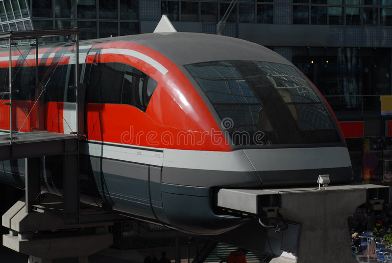 Hang trein royalty-vrije stock foto