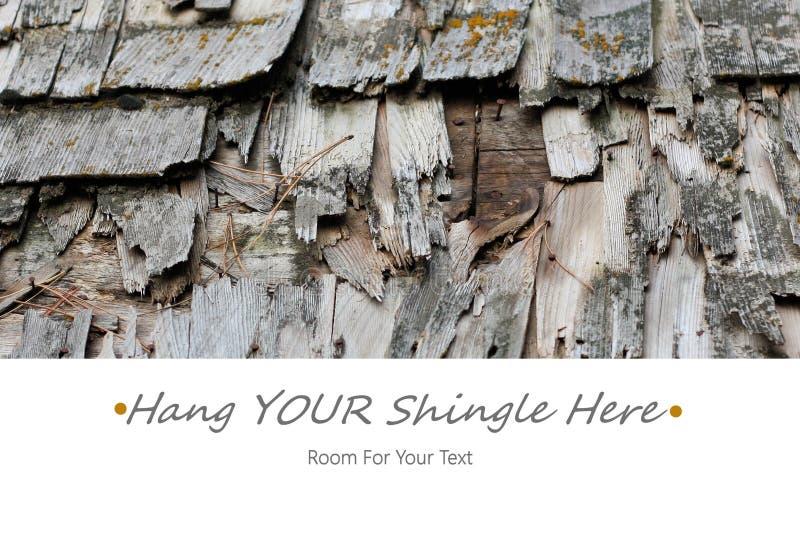 Hang Your Shingle Here royalty-vrije stock afbeeldingen