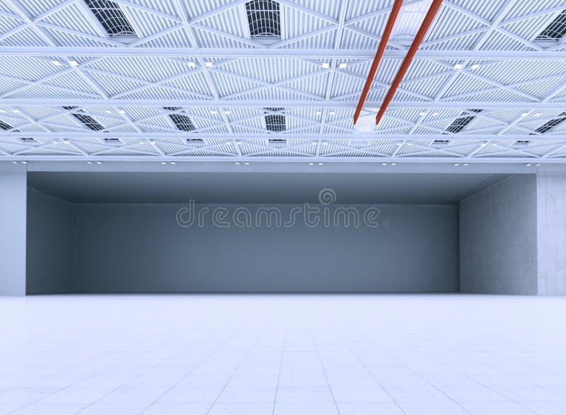 hangar ilustração stock