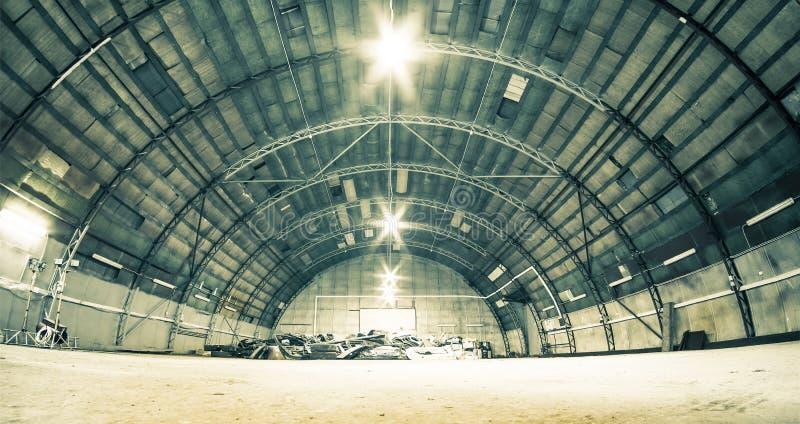 hangar photographie stock