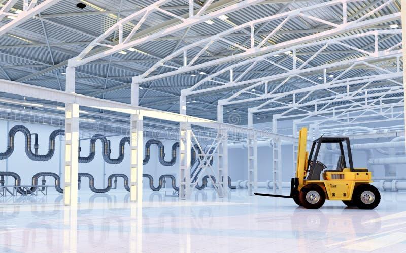 hangar vektor illustrationer