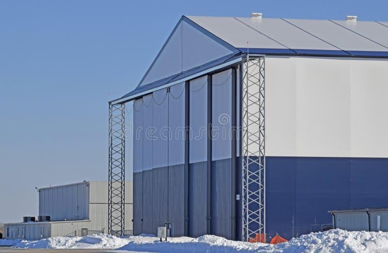Hangar d'avions photos libres de droits