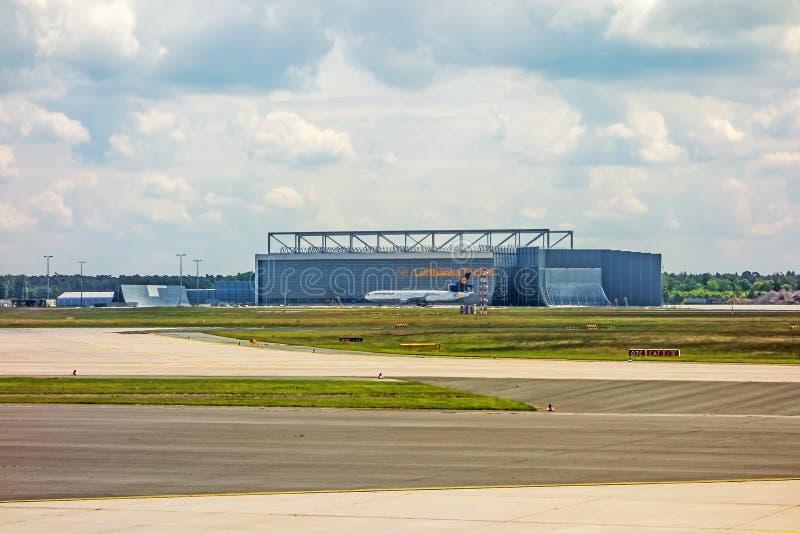 Hangar de Lufthansa Technik photo stock