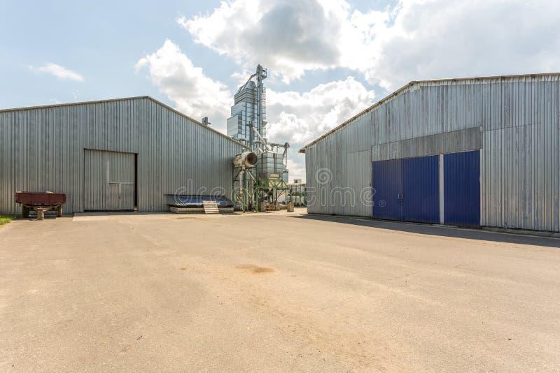 Hangar pour des fruits et légumes en stock de stockage Entrep?t de production Industrie d'usine image libre de droits