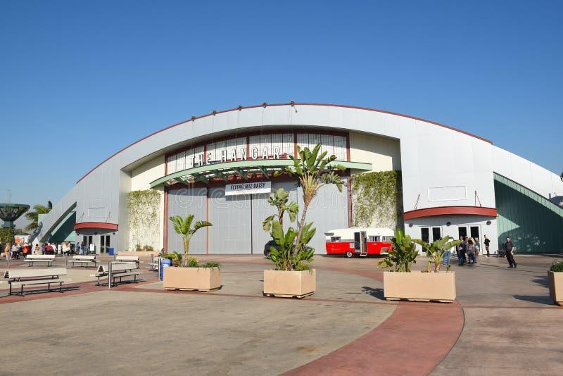 Hangar przy OC wydarzenia i jarmarku centrum zdjęcia stock