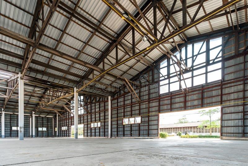 Hangarbyggnad royaltyfri foto