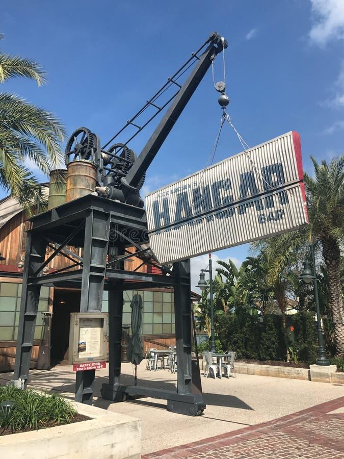 Hangaru bar, Disney wiosny, Orlando, Floryda fotografia royalty free
