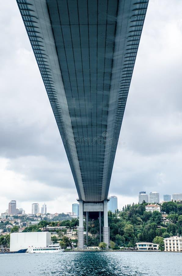 Hangbrug, Istanboel royalty-vrije stock foto's
