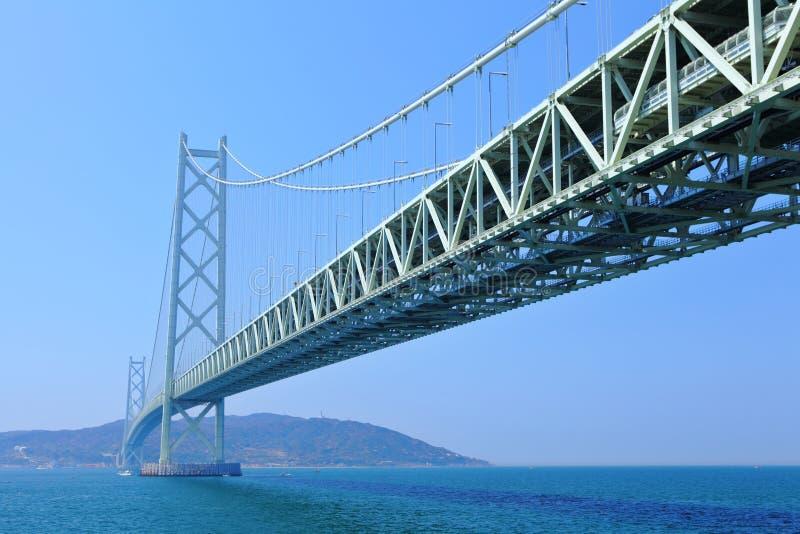 Hangbrug in Kobe stock fotografie