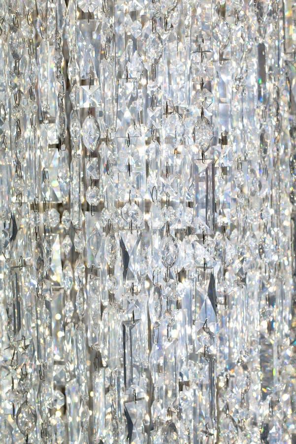 Hangend Crystal Curtain royalty-vrije stock afbeeldingen