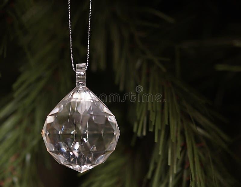Hangend Kristal stock fotografie