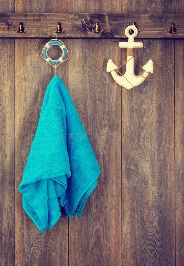 Hangende Handdoek stock foto