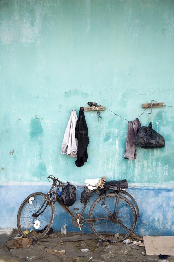 Hangende kleren stock fotografie