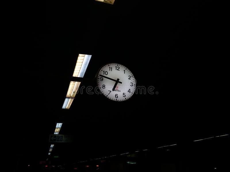 Hangende klok stock afbeelding