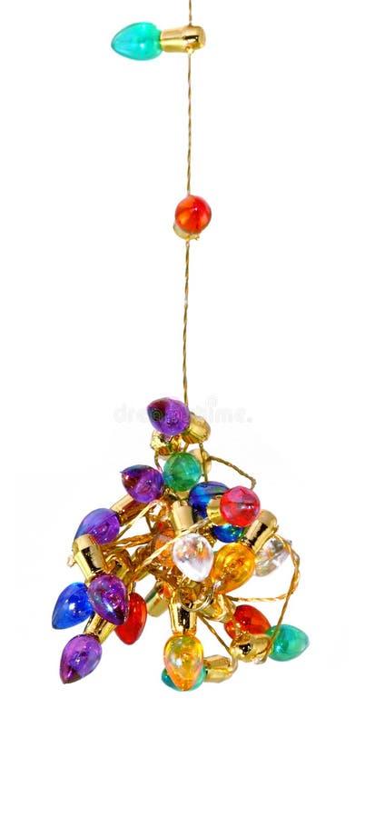 Hangende Knoop van Lichten royalty-vrije stock foto's