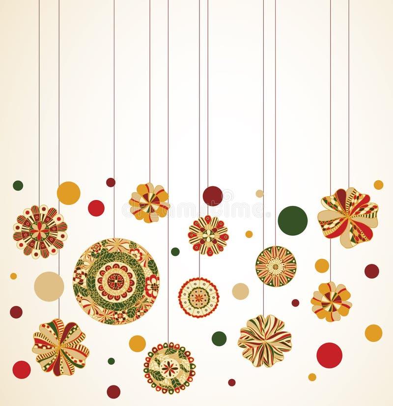 Hangende Ornamenten Royalty-vrije Stock Fotografie