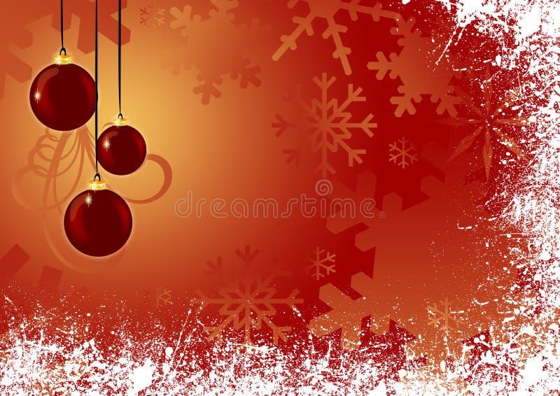 Hangende Ornamenten vector illustratie
