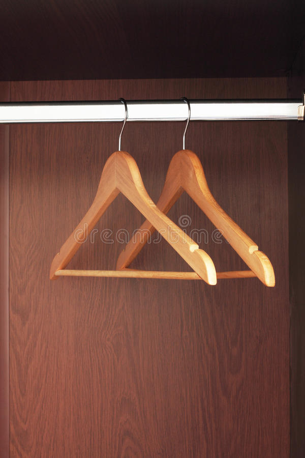 Download Hangers stock image. Image of inside, silver, clothes - 13453667
