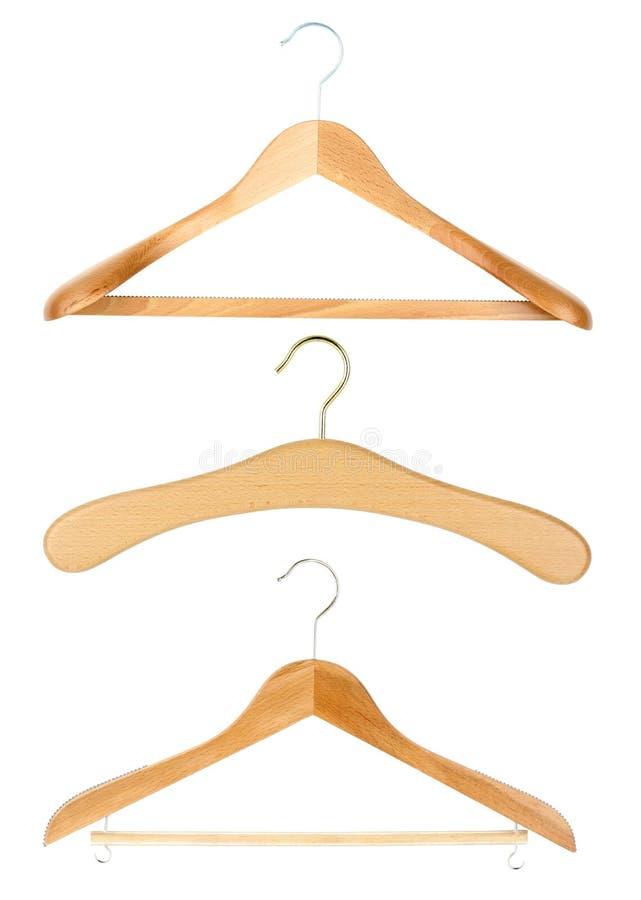 Hangers royalty-vrije stock afbeelding