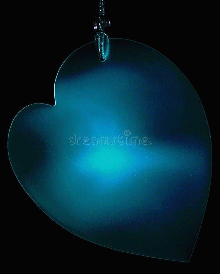 Download Hanging Blue Heart stock illustration. Illustration of romance - 100562