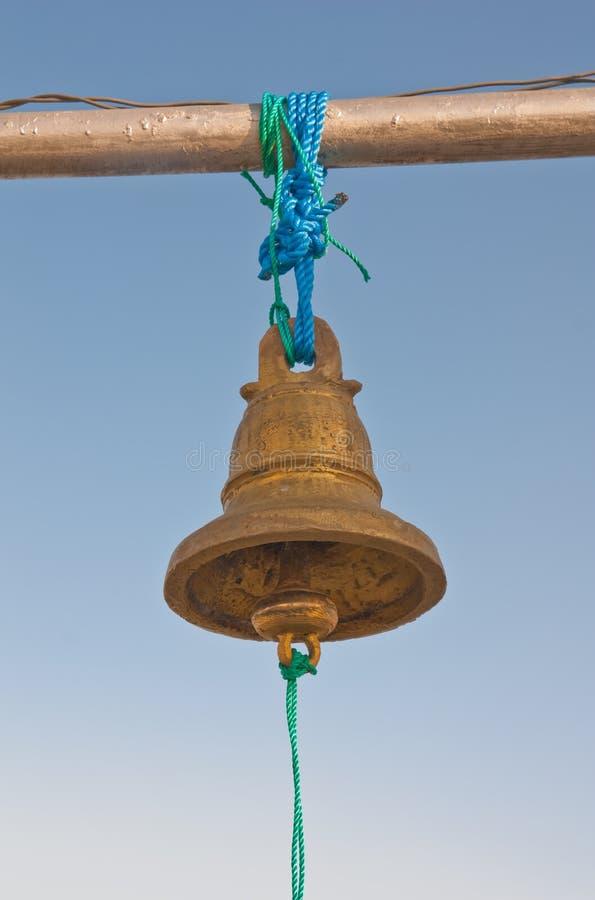Hanging brass bell