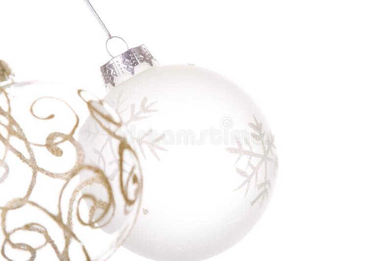 Hanging Christmas Balls Royalty Free Stock Image