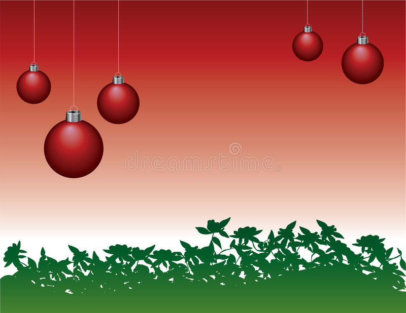 Download Hanging Christmas Ornaments Stock Vector - Illustration of element, festive: 4870328