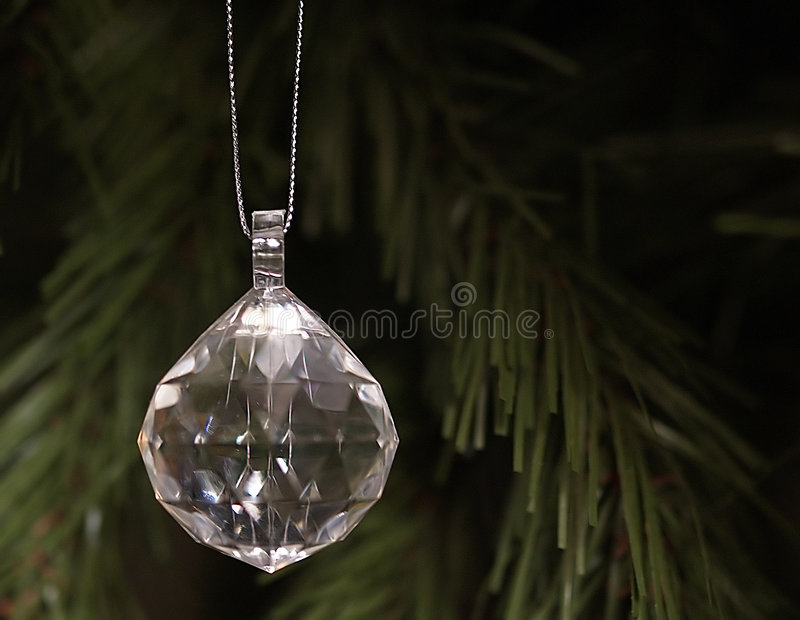 Hanging Crystal stock photography