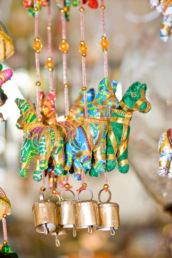 Free Hanging Decorations Royalty Free Stock Photo - 3474295