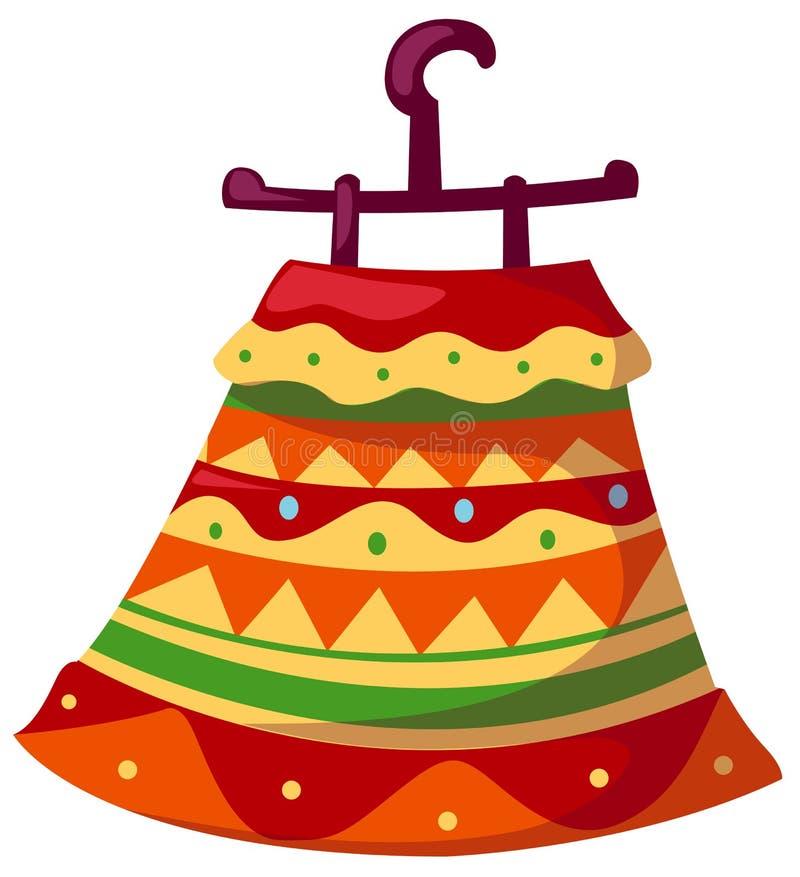 Download Hanging dress stock vector. Image of clipart, fiesta - 20393066