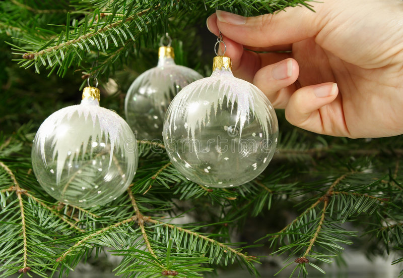 Download Hanging glass ornament stock photo. Image of holidays - 3619020