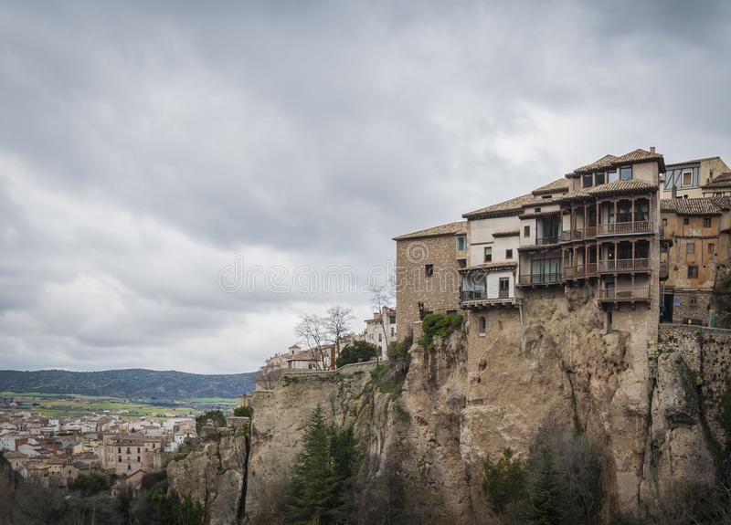 Download Hanging Houses In The Medieval Town Of Cuenca, Spain Stock Photo    Image Of
