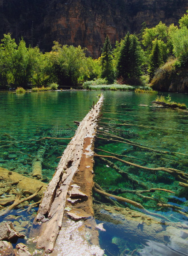Hanging Lakes royalty free stock images