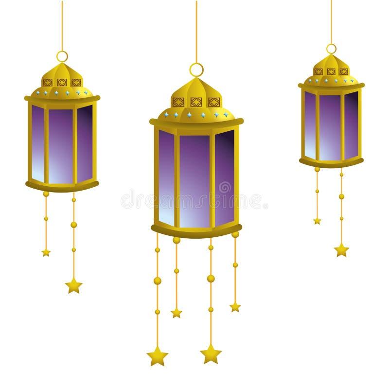 Hanging lamp icon vector illustration