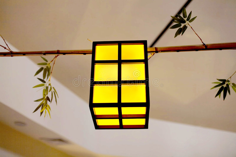 Hanging lantern royalty free stock image